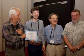 Francis Marleau Donais a reçu le le Runner-up 2017 GDN Springer Young Researcher Award